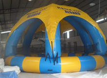 Outdoor entertainment, Giant Inflatable Pool Swimming Pool With Cover
