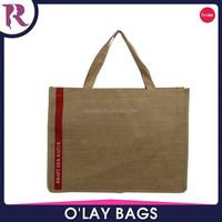 Zhejiang 2015 wholesale jute tote shopping bags