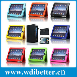 For Ipad 3 Genuine Leather Case For Ipad 3 Rotate Leather Case