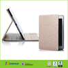 genuine leather case in booked style and hot selling for ipad air
