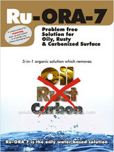 Rust, oil and carbon remover