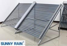 Sunnyrain high efficiency and powerful evacuated tube solar collector(cpc)