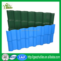 philippines green roof/nipa huts roof sheet/upvc resin sheet
