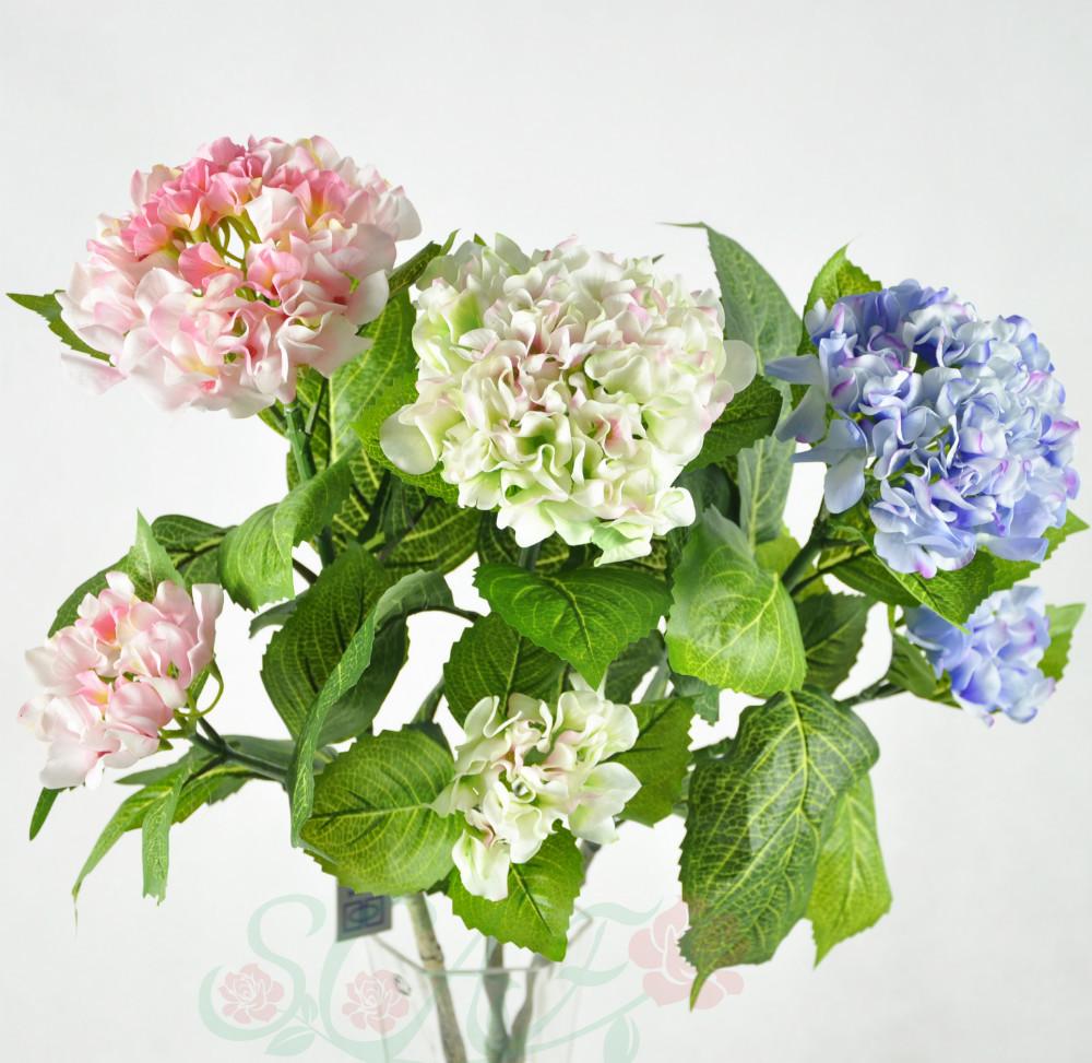Flores al por mayor de seda