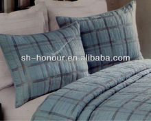 High Quality Luxury Plain Cotton Quilt Bedding Set