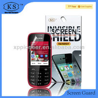 Cell accessory good touch feeling self adhesive for Nokia Asha 203/2030 LED Cell Phone screen protective film dust proof