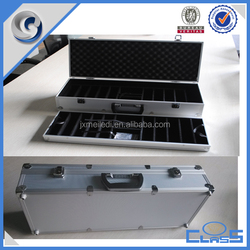 OEM measuring poker chips aluminum case with custom design made in zhejiang
