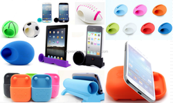 For Any Mobile Phone Silicone Speaker silicone Cell Phone Speaker