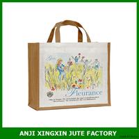 Fashion Jute handbag Soft Candy Bag Cheap Designer Women Tote Shopping Bag
