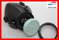 single cartridge dust respirator/dust mask pleated