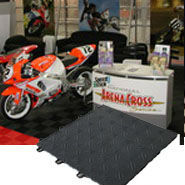 Mocha seagrass floor mat outdoor