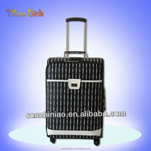 Three Birds new desiner for women and men PU Travel Luggage leather cases