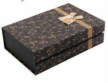 2015 China Factory Recycle Dongguan Manufacturer Custom gift box with magnetism closure