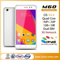 OEM Factory 5.0inch 1G+8G Memory Quad core brand name cell phone