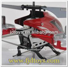 venta caliente de la aleación 4ch juguetes rc helicóptero manual