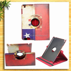 multi function 360 degree leather case for ipad mini