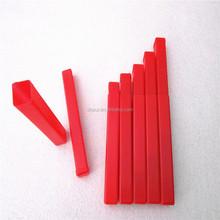 Red PE small square plastic box