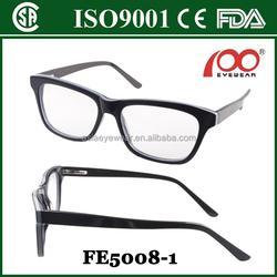 fashion acetate optical frame meet CE FDA ISO