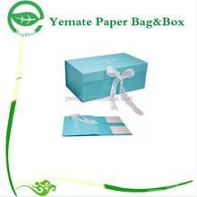 bespoke recycled advertising attractive eyecatching glossy custom cardboard treasure chest box, paper bra packaging box