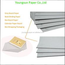 Venda quente cinzento mobiliário papel papel matéria prima
