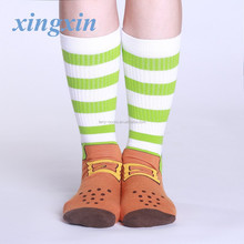 christmas terry socks