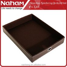 NAHAM Office A4 Paper Square Funny Stationery Desk File Tray