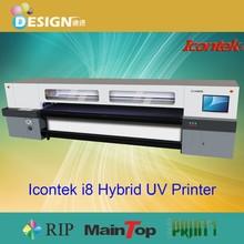 Best printing! Use 6 pieces SPT-1020/35pl printheads Icontek i8 Hybrid UV Printer