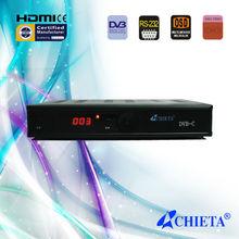 Digital SD DVB-C Set Top Box with Multi Case