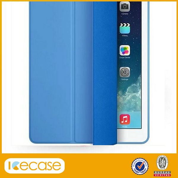 Smart Cover for Ipad 2 3 4 , sleep and wake up function Slim Magnetic Folding smart Cover for ipad 2 3 4