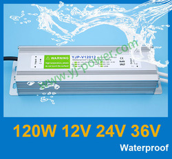 electric waterproof led power supply 12v 10a 120w, power supply unit 12v