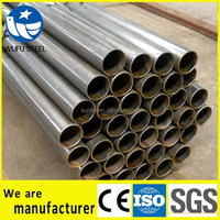 Schedule 20 40 80 erw lasw ssaw SS400 structure pipe manufacturer