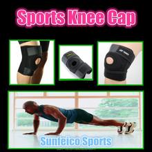 MOQ:10pcs!!! Hot! Sports Protection Knee Leg Support~Adjustable Leg Cap Brace Wrap Protector Pads Sleeve Cap Safety Leg Brace
