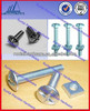 Zinc plated steel roof screw with neoprene washer nail roofing screw