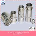 Personalizado peças de precisão mecânica, cnc usinagem de serviço, overlock máquinas de costura peças