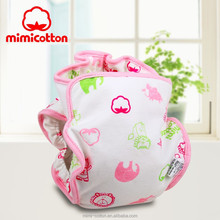 New style 100% cotton printing muslin baby cloth diaper and baby cloth nappy