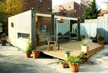 2015 new design China flat pack container house /flat pack container dormitory