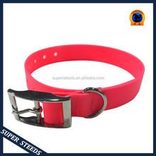 Waterproof comfortable PVC training and hunting dog collar