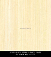 china white ash timber for wooden decoraion sliced cut laminated engineered veneer