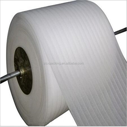 Protective Film Type and EPE Material White color epe foam roll liner