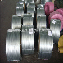 Redrawing used galvanized steel wire