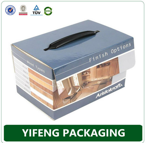 2015 Custom style foldable paper packaging corrugated box