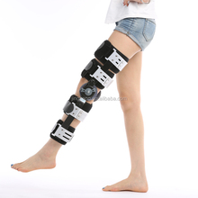 Knee cap protector hinged ROM knee support for knee joint fixation after operation