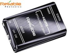 Reliable Photonics custom edid HDMI Extender AV to HDMI converter over fiber cable 1080p to Max 2000m