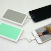 Credit Card-Sized 5000mAh powerbank built-in USB cable power bank alibaba china