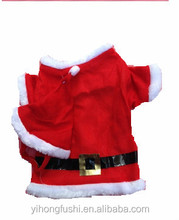 Christmas Santa Claus Style Dog Clothes and Hat Pet Santa Suit Christmas Decoration for Pet Gift