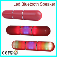 Best Bass wireless Mini Bluetooth Speaker With LED Flash Dancing Based Music