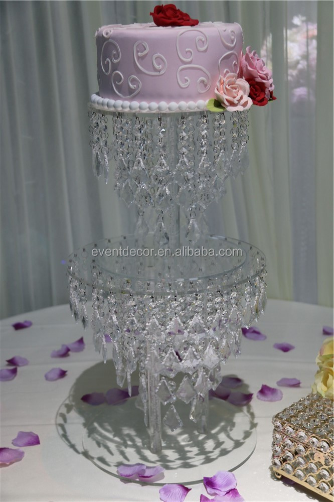 Chandellier Crystal Cake Stand Sbuy