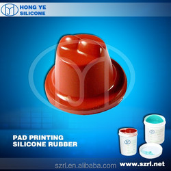 hot product silicone pads liquid material for make pad printers