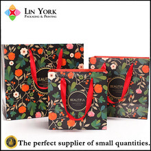 New design customised handmade paper bags designs with logo print