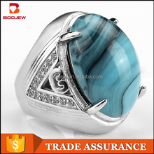 Custom jewelry manufacturer, 925 silver ring Indonesia popular male ring of the atmosphere
